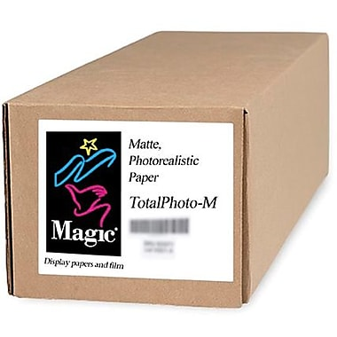 Magiclee/Magic Total Photo M 30in. x 100' Coated Matte Photorealistic Paper, White, Roll