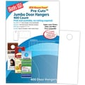 Blanks/USA® 4 1/4in. x 11in. 80 lbs. Digital Smooth Cover Door Hanger, White, 100/Pack