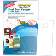Blanks/USA® 3.67 x 8 1/2 80 lbs. Digital Gloss Cover Door Hanger, White, 250/Pack