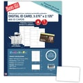 Blanks/USA® 3 3/8in. x 2 1/8in. 7 mil Digital Polyester ID Card, White, 600/Pack