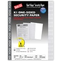 Blanks/USA® Kan't Kopy® 8 1/2in. x 11in. 60 lbs. K1 Security Paper, Void Gray, 100/Pack
