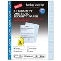 Blanks/USA® Kan't Kopy® 8 1/2in. x 11in. 60 lbs. K1 Features Box Security Paper, Copy Blue, 250/Pack