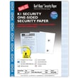 Blanks/USA® Kan't Kopy® 8 1/2in. x 11in. 60 lbs. K1 8 Features Security Paper, Void Blue, 250/Pack