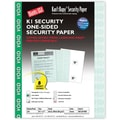 Blanks/USA® Kan't Kopy® 8 1/2in. x 11in. 60 lbs. K1 Security Paper, Void Green, 250/Pack