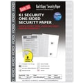 Blanks/USA® Kan't Kopy® 8 1/2in. x 11in. 60 lbs. K1 Features Box Security Paper, Void Gray, 250/Pack