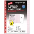 Blanks/USA® Kan't Kopy® 8 1/2in. x 11in. 60 lbs. K1 Security Paper, Void Red, 250/Pack