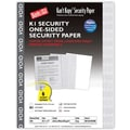 Blanks/USA® Kan't Kopy® 8 1/2in. x 11in. 60 lbs. K1 Security Paper, Void Gray, 500/Pack