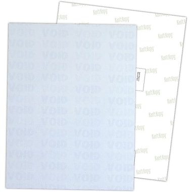 Blanks/USA® Kan't Kopy® 8 1/2in. x 11in. 60 lbs. K1 8 Features Security Paper, Void Blue, 2500/Pack