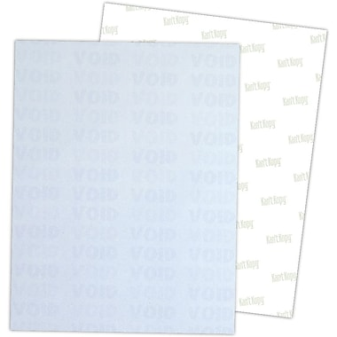 Blanks/USA® Kan't Kopy® 8 1/2in. x 11in. 60 lbs. K1 6 Features Security Paper, Void Blue, 2500/Pack
