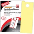Blanks/USA® 4 1/4in. x 11in. 67 lbs. Digital Bristol Cover Door Hanger, Canary, 50/Pack