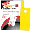 Blanks/USA® 3.67in. x 8 1/2in. 65 lbs. Digital Timberline Cover Door Hanger, Sunfish Yellow, 50/Pack