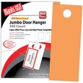 Blanks/USA® 4 1/4in. x 11in. 65 lbs. Digital Timberline Cover Door Hanger, Hunter's Orange, 250/Pack