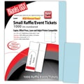 Blanks/USA® 2 1/8in. x 5 1/2in. Numbered 01-1000 Digital Index Cover Event Tickets, 125/Pack