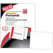 Blanks/USA® 5 1/2 x 4 1/4 80 lbs. Matte Digital Postcard, White, 50/Pack