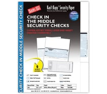 Security / Check & Perforated / Carbonless Paper