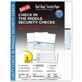 Kan't Kopy® Blank/USA® 8 1/2in. x 11in. 60 lbs. Security Check on Middle Paper, Void Blue, 250/Pack