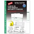 Kan't Kopy® Blank/USA® 8 1/2in. x 11in. 60 lbs. Security Check on Middle Paper, Void Green, 250/Pack
