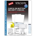 Kan't Kopy® Blank/USA® 8 1/2in. x 11in. 24 lbs. Security Check on Bottom Papers, 250/Pack