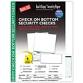 Kan't Kopy® Blank/USA® 8 1/2in. x 11in. 60 lbs. Security Check on Bottom Paper, Void Green, 250/Pack