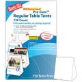 Blanks/USA® 3.67in. x 3 1/8in. x 5 3/8in. 80 lbs. Digital Table Tent, White, 750/Pack