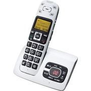 Clearsounds A500 Amplified Talking Cordless Telephone with Answering Machine