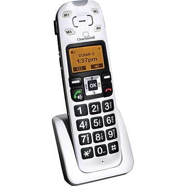 Clearsounds A500BUN Amplified Cordless Telephone with Answering Machine Bundle Package