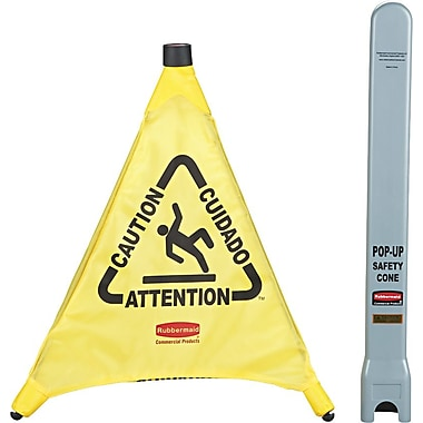 Rubbermaid® Pop-Up Safety Cone, 20