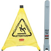 "Rubbermaid® Pop-Up Safety Cone, 20""(L) x 21""(W)"