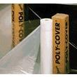 Warp Brothers® Poly-Cover® Black Plastic Sheet, 100'(L) x 16'(W) x 6mil(T)