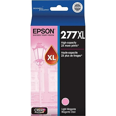 Epson 277XL (T277XL620) Light Magenta Ink Cartridge, High-Capacity