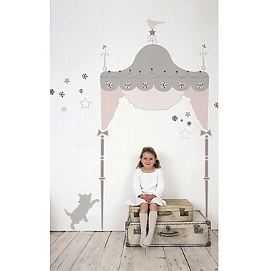 RoomMates Juliette Headboard Peel and Stick Giant Wall Decal