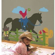 RoomMates Kids Lab® Ranch Peel and Stick Giant Wall Decals
