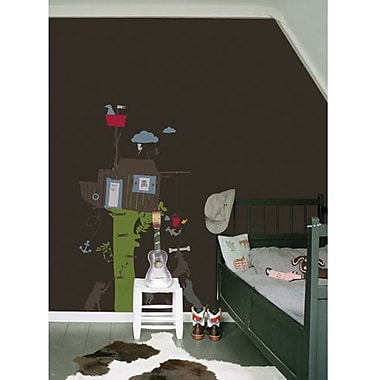 RoomMates Kids Lab® Treecabin Peel and Stick Giant Wall Decals