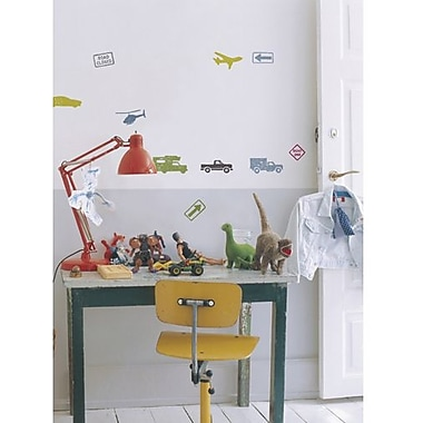 RoomMates City Traffic Peel and Stick Wall Decal