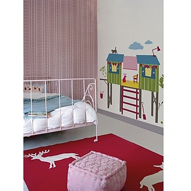 RoomMates Kids Lab® Treehouse Peel and Stick Giant Wall Decals