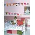 RoomMates Colorful Party Banner Peel and Stick Wall Decal
