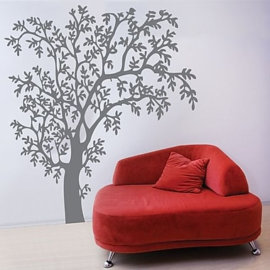 RoomMates Mia & Co Nature Giant Peel and Stick Transfer Wall Decal, Gray