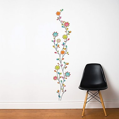 RoomMates Mia & Co Nature Dance Peel and Stick Transfer Wall Decal