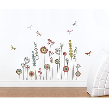RoomMates Mia & Co Garden Peel and Stick Transfer Wall Decal