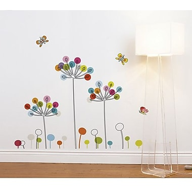 RoomMates Mia & Co Buttercups Peel and Stick Transfer Wall Decal