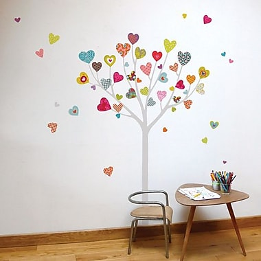 RoomMates Mia & Co Heart Tree Peel and Stick Transfer Wall Decal