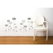 RoomMates Mia & Co Uppsala Peel and Stick Transfer Wall Decal, Gray