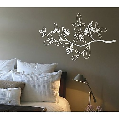 RoomMates Mia & Co Arezzo Peel and Stick Transfer Wall Decal, White