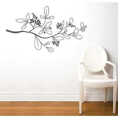 RoomMates Mia & Co Salento Peel and Stick Transfer Wall Decal, Gray