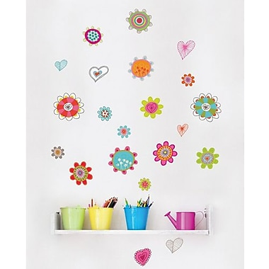 RoomMates Mia & Co Spring Peel and Stick Wall Decal