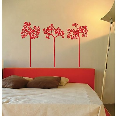 RoomMates Mia & Co Flair Peel and Stick Transfer Wall Decal, Red 202964