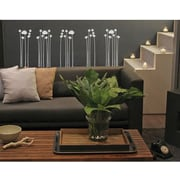 RoomMates Mia & Co Star Stalks Peel and Stick Transfer Wall Decal, Gray