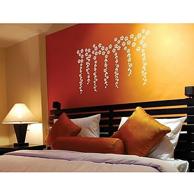 RoomMates Mia & Co Vignette Peel and Stick Transfer Wall Decal, White