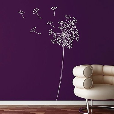 RoomMates Mia & Co Snowdon Peel and Stick Transfer Wall Decal, White