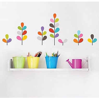 RoomMates Mia & Co African Flowers Peel and Stick Wall Decal